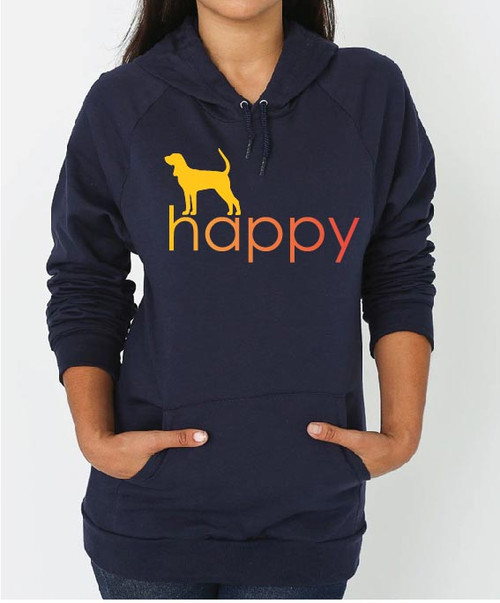 Righteous Hound - Unisex Happy Coonhound Hoodie