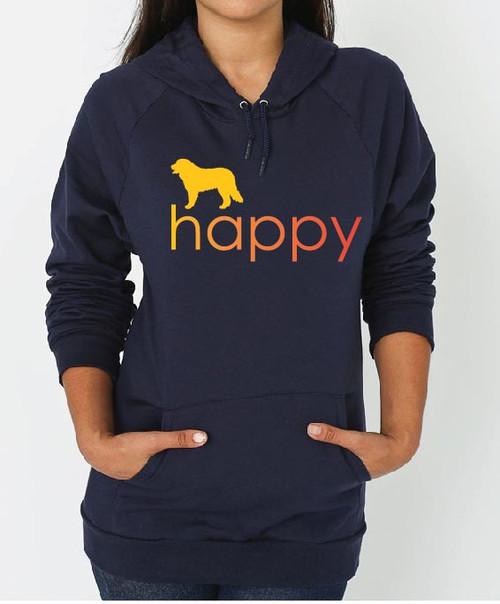 Bernese Mountain Dog Happy Hoodie