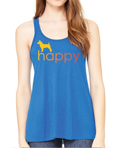 Righteous Hound - Flowy Happy Jack Russell Tank