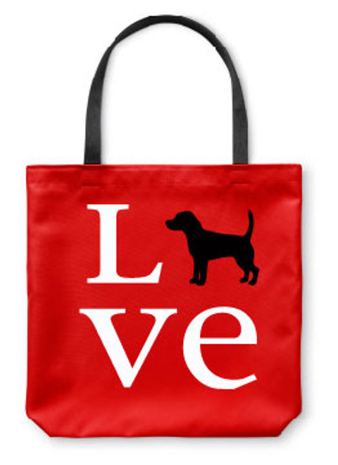 Righteous Hound - Love Beagle Tote Bag