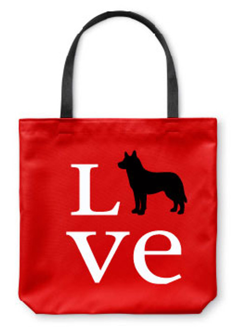Righteous Hound - Love Husky Tote Bag