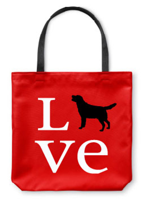 Righteous Hound - Love Lab Tote Bag