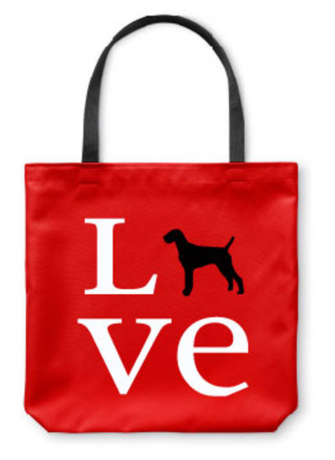 Righteous Hound - Love Vizsla Tote Bag