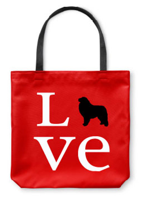 Righteous Hound - Love Great Pyrenees Tote Bag