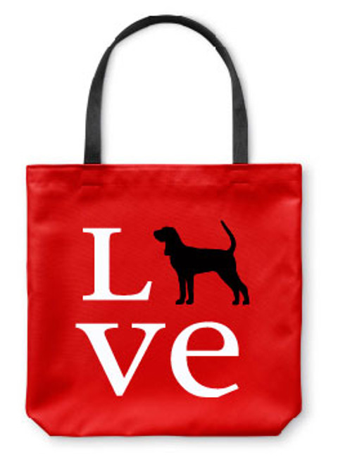 Righteous Hound - Love Coonhound Tote Bag