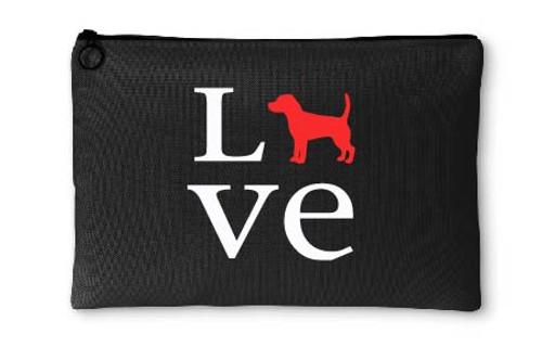 Beagle Love Accessory Pouch