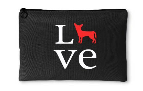 Chihuahua Love Accessory Pouch