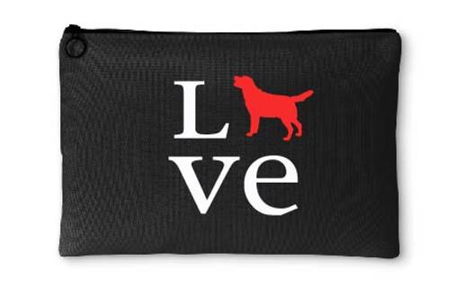 Labrador Retriever Love Accessory Pouch