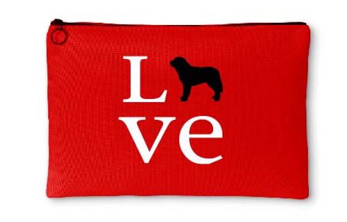 Righteous Hound - Love Saint Bernard Accessory Pouch