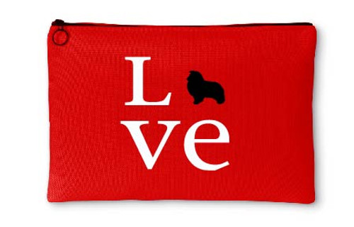 Righteous Hound - Love Shetland Sheepdog Accessory Pouch