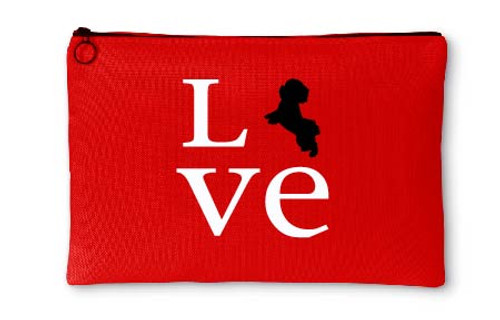 Righteous Hound - Love Maltese Accessory Pouch