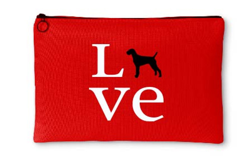 Righteous Hound - Love Vizsla Accessory Pouch