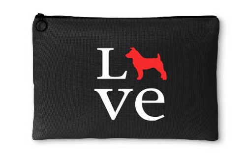 Jack Russell Terrier Love Accessory Pouch