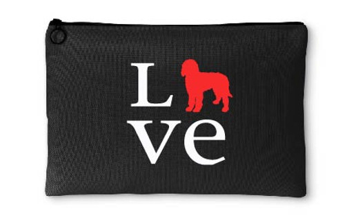 Goldendoodle Love Accessory Pouch