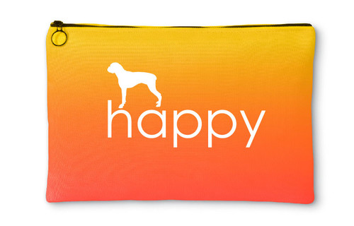 Righteous Hound - Happy Boxer Accessory Pouch