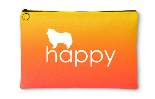 Righteous Hound - Happy Collie Accessory Pouch