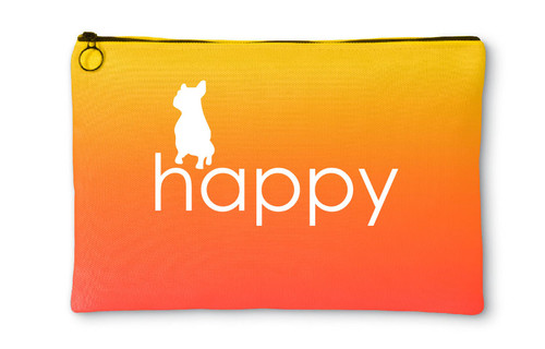Righteous Hound - Happy French Bulldog Accessory Pouch