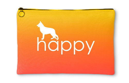Righteous Hound - Happy German Shepherd Accessory Pouch