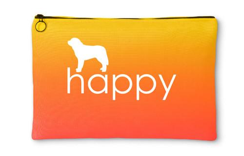 Righteous Hound - Happy Saint Bernard Accessory Pouch