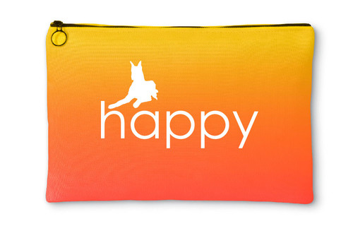Righteous Hound - Happy Great Dane Accessory Pouch