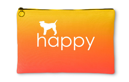 Righteous Hound - Happy Schnauzer Accessory Pouch