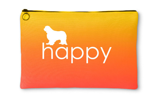 Righteous Hound - Happy Cavalier King Charles Spaniel Accessory Pouch