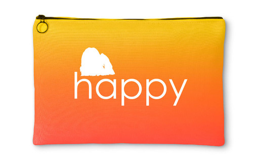 Righteous Hound - Happy Maltese Accessory Pouch