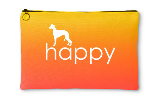 Righteous Hound - Happy Whippet Accessory Pouch