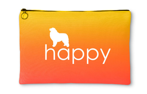 Righteous Hound - Happy Great Pyrenees Accessory Pouch