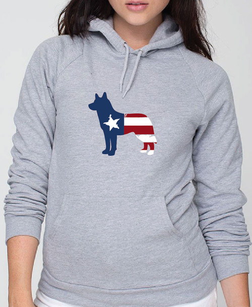 Righteous Hound - Unisex Patriot Husky Hoodie