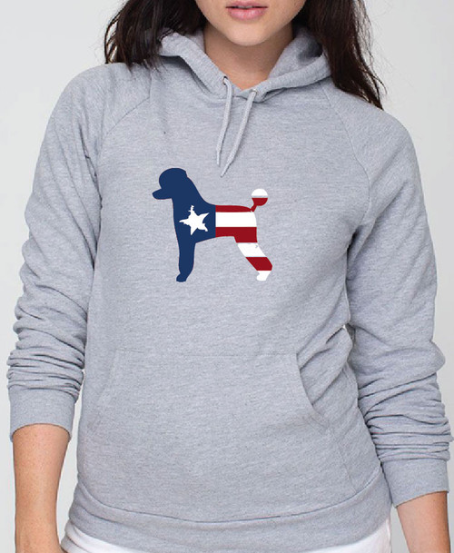 Righteous Hound - Unisex Patriot Poodle Hoodie