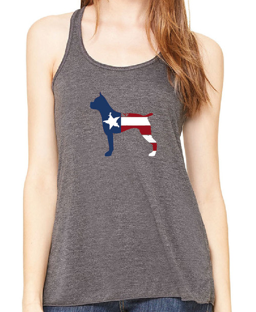 Righteous Hound - Flowy Patriot Boxer Tank
