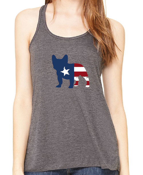 Righteous Hound - Flowy Patriot French Bulldog Tank