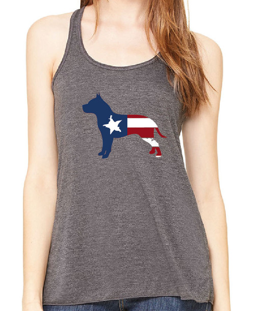 Righteous Hound - Flowy Patriot Pitbull Tank