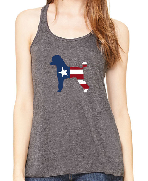 Righteous Hound - Flowy Patriot Poodle Tank