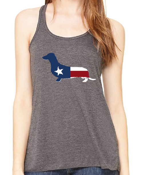 Righteous Hound - Flowy Patriot Dachshund Tank