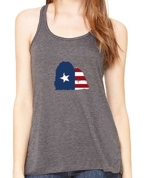 Righteous Hound - Flowy Patriot Maltese Tank