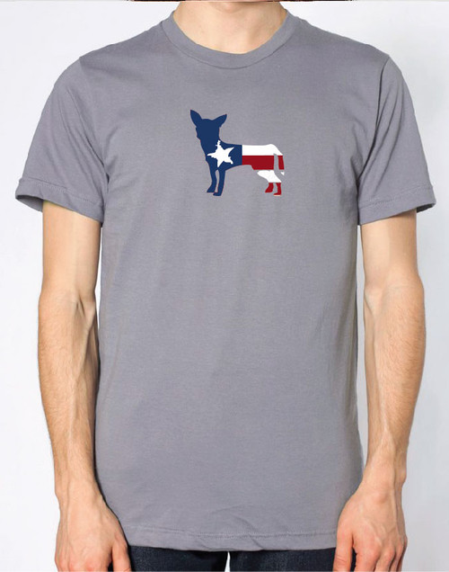 Righteous Hound - Men's Patriot Chihuahua T-Shirt