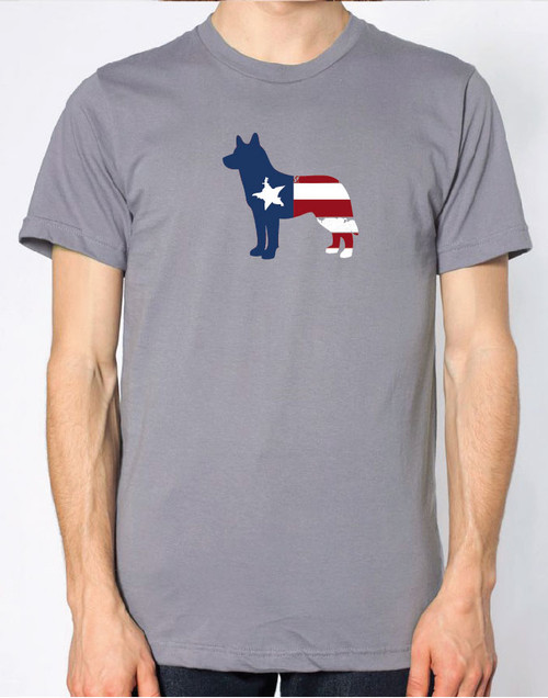 Righteous Hound - Men's Patriot Husky T-Shirt