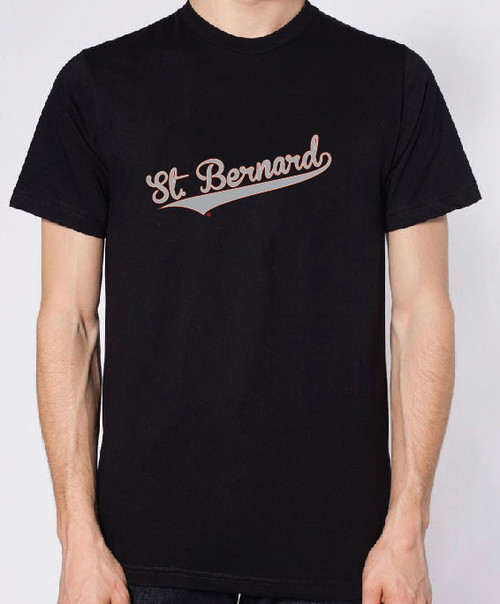 Righteous Hound - Men's Varsity Saint Bernard T-Shirt