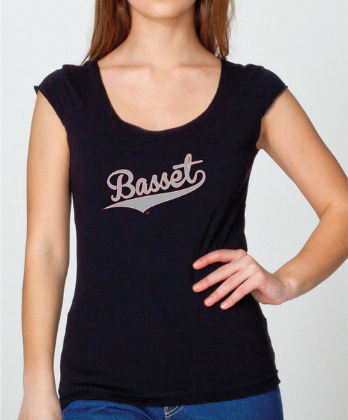 Women's Righteous Hound Varsity Basset Hound T-Shirt