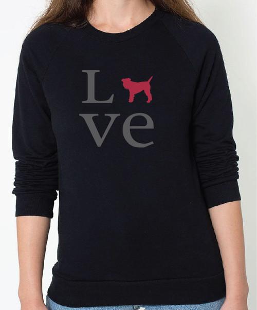 Unisex Love Schnauzer Sweatshirt