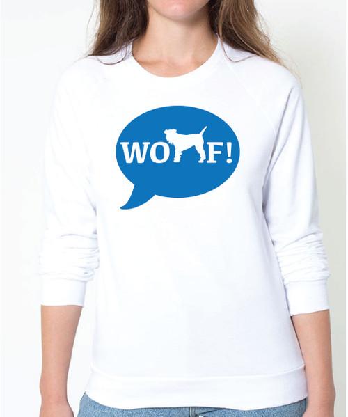 Righteous Hound - Unisex WOOF! Schnauzer Sweatshirt