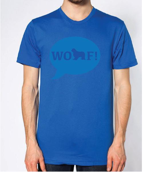 Righteous Hound - Unisex WOOF! Cavalier King Charles Spaniel T-Shirt