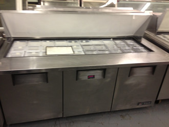 TRUE TSSU7230MB SANDWICH PREP UNIT