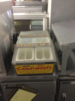 CREATIVE SERVING CONDIMENT CHILLER