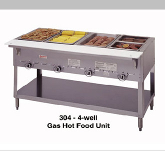 3 BAY GAS STEAMTABLE