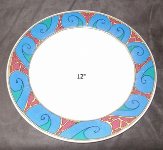 LARGE 12'' PLATE