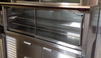 DELFIELD BAKERY DISPLAY CASE COUNTERTOP DRY