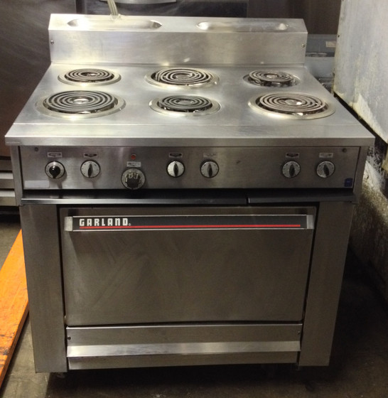 GARLAND 36ER33 6 BURNER ELECTRIC RANGE